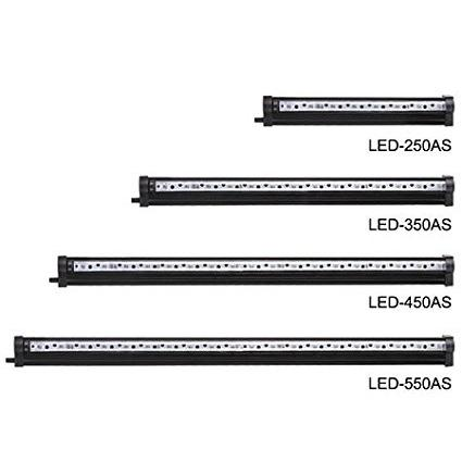 LED Submersible light & air stone - 1200mm