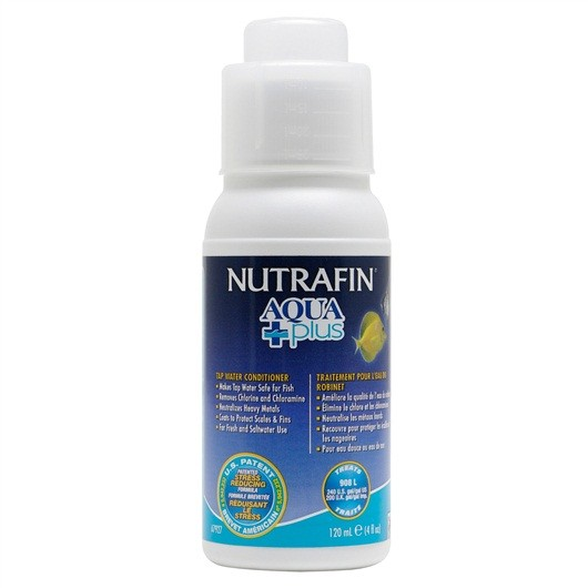 Nutrafin Aqua Plus - Tap Water Conditioner - 120 ml