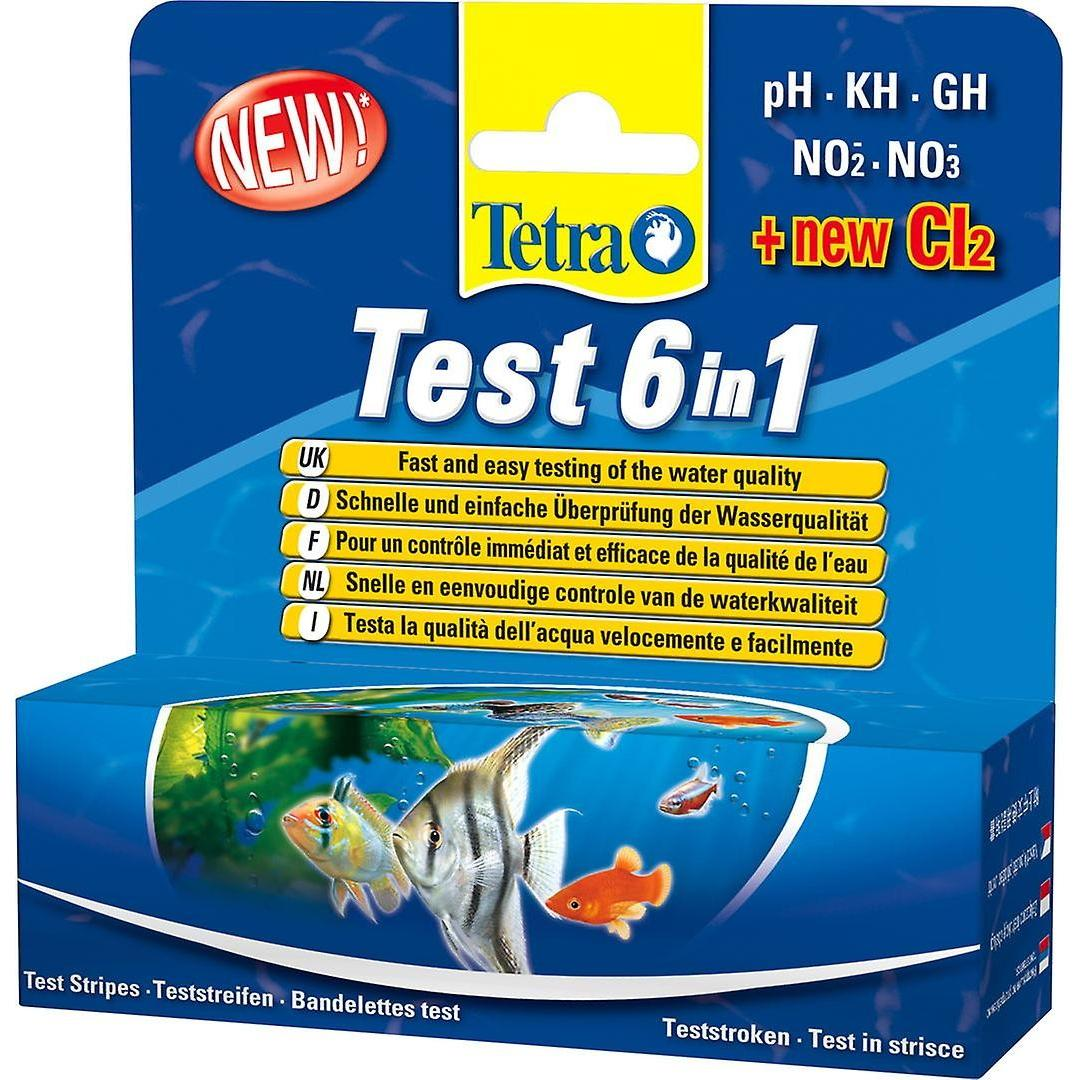 Tetra Aquarium Test Strip 6 In 1 (25's)